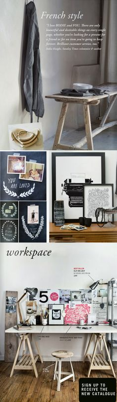 I love the office area in the bottom photo.