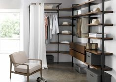ophangsysteem voor etag res kyriel set van 2 voor dressing am pm smaak winkel. Black Bedroom Furniture Sets. Home Design Ideas