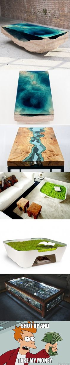 Coffee table designs