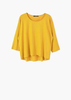 Cotton t-shirt | MANGO