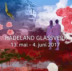 Separatutstilling 13. ma1 - 4. juni. Hadeland Glassverk.