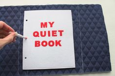 Want to make a fabric cover for your quiet book? I gave some brief instructions a few years ago how I made this  cover but with all the ...