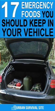 Car Survival Kits, Emergency Preparedness Food, Emergency Preparation, Urban Survival, Survival Life, Survival Food, Wilderness Survival, Survival Prepping, Survival Skills
