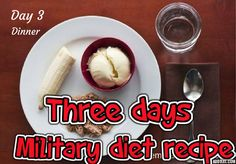 How to Lose 10 Pounds in 3 Days with this Special #Military #Diet...check it out now...http://bit.ly/2dx8Sw4