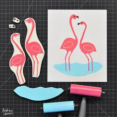 Andrea Lauren (@inkprintrepeat) | Feeling a bit tropical #flamingofriday | Intagme - The Best Instagram Widget