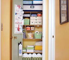 "Organizing isn't about being overly disciplined,"" says Deb Allert, who owns Clutter-a-Go-Go, in San Diego. ""It's about being structured just enough so that you can find anything within three minutes."" Decide what your top priorities are. (The living room? Your files? Your shoes?) Then ""organize to the point where you bring serenity into your life,"" she says. ""That's rarely achieved by perfectionism."""