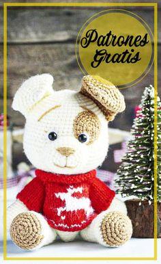 Cute Crochet, Crochet Crafts, Crochet Baby, Crochet Projects, Diy Crafts, Crochet Stitches For Beginners, Crochet Patterns Amigurumi, Amigurumi Free, Crochet Animals