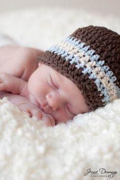Newborn Crochet Hats