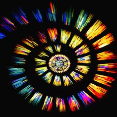 Interesting Photo of the Day: Stained Glass Zoom Effect - http://thedreamwithinpictures.com/blog/interesting-photo-of-the-day-stained-glass-zoom-effect
