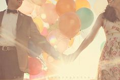 Engagement photos inspired by Disney's 'Up' !!!!