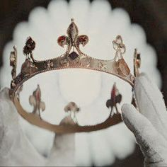 Honour it, love it, fear it. The crown that will be placed upon your head.