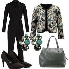 Stanche di andare in ufficio vestite sempre nello stesso modo e siete alla ricerca di idee nuove? La jumpsuit abbinata ad una giacca e a delle décolleté potrebbe essere la soluzione per voi.
