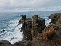 Tojinbo Cliffs, Fukui Prefecture.
