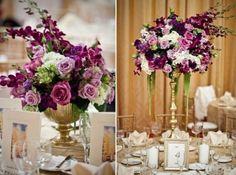 Decoração para casamento na cor lilás - Fotos, modelos - Para Casamento