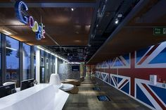 Las oficinas de Google en Londres.