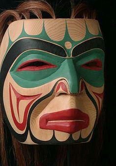 Native American Masks - NWC Haida Sea Shaman