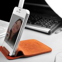 evouni nano stand pouch smartphone facetime photo