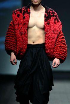 monsieurcouture:  Istituto Marangoni F/W 2015 Menswear Shanghai Fashion Week
