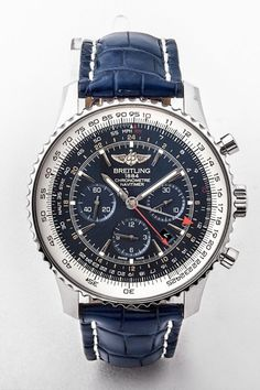 2017 gents pre-owned stainless steel Breitling Navitimer GMT watch with blue and white dial, 49mm dial, certified with original box. #dublin #ireland #fathersday #breretonjewellers #weddingjewellery #junebirthday #vintagewatch #luxuryjewellery #dublinjewellers #watch #wedding #summer #spring #gifts #watch #breitling #breitlingnavitimer