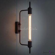 Simple Edison Punk Steam 1 Light Wall Sconce - Beautifulhalo.com