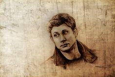 Dean Winchester by Samy110.deviantart.com on @DeviantArt #deanwinchester #supernatural #dean #spn #winchester #jensenackles