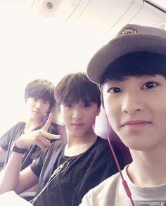 Jaemin, Donghyuk, and Mark