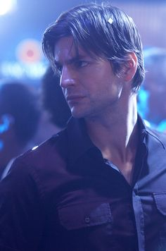 """Queer as Folk"" US version that was filmed in Toronto, Canada - Brian at Babylon prince series brian Gale Harold/Brian Kinney Justin Taylor, Brian And Justin, Randy Harrison, Brian Kinney, Gale Harold, Queer As Folk, You're Hot, Hot Actors, Fine Men"