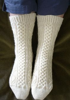 Ravelry: Bavarian Socks pattern by Karen E. Williams
