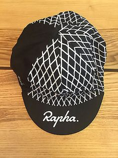 Rapha Cycling Cap Stage 3 Tour of California 2015 Colophon Black White | eBay