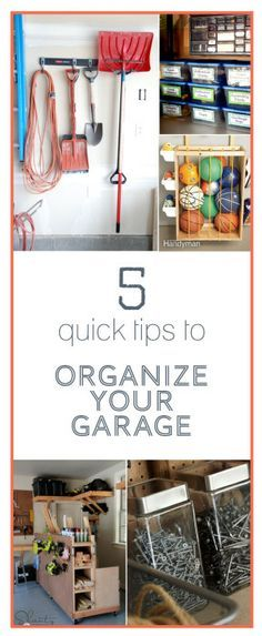 5 Quick Tips to Organize Your Garage from www.TheCreativeMom.com #pmedia #ad #FastTrack