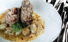 Χοιρινό σνίτσελ γεμιστό με πανσέτα Pork, Beef, Recipies, Kale Stir Fry, Meat, Pork Chops, Steak