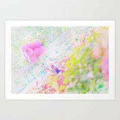 Balloon Girl Art Print by Heidi Fairwood - $15.60