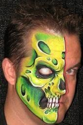 Love the mix of bony skull with the organic colors and holes in the Wolfe design