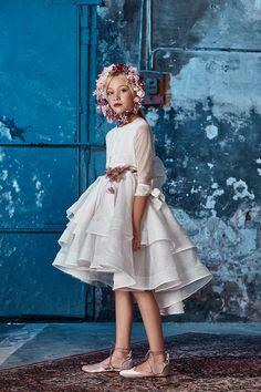 Moda de comunión. Vestidos de comunión y trajes de comunión Hortensia Maeso.