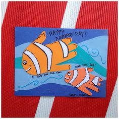Handprint Nemo Card