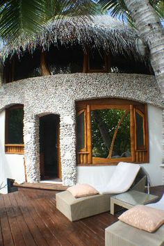 beach tropical house