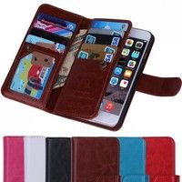 New Luxury Noble Fashion Magic Design  Multi-Functions Wallet Purse Mobile Case   With Multi-Functio