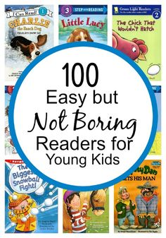 100 Easy but NOT Boring Readers for Young Kids-separated by reading level - Homeschool: Children's Books - Long life Books For Boys, Childrens Books, Kid Books, Guided Reading Levels, Level 1 Reading Books, Reading Lists, Reading Fluency, Reading Lessons, Reading Resources