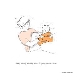 スコットランド・エジンバラ在住のイラストレーター、ルーシー・スコットさんは2012年に男の子の赤ちゃんを出産しました。どんなに子育て本を読み漁っても、その後のジェットコースターの様な赤ちゃんとの毎日は想像すらできなかったというルーシーさん。 そんな楽しくもカオスな、息子ロイス君との一年を描いたイラス