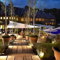 10 Of The Best Luxury Spa Breaks In England | Pennyhill Park Spa, Surrey | For more holiday inspiration see our site, www.redonline.co.uk.