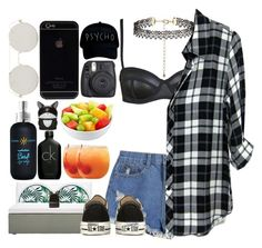 """""""*1287"""" by asoc10 ❤ liked on Polyvore featuring New Look, Milly, Rails, Janus et Cie, Bumble and bumble, Calvin Klein, Forever 21, Fuji, Converse and 3.1 Phillip Lim"""