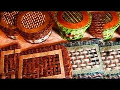 ▶ Twill weave of newspapers - YouTube
