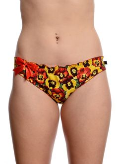 Pansy knickers now available online  www.trulysopel.co.uk