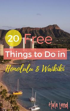 FacebookTwitterPinterestStumbleUpon Hawaii can be an expensive vacation, but if you're staying on Waikiki, there are plenty of things to do for free. Here are 20 things to do in Waikiki & Honolulu for free: 1.Kuhio Beach: Nothing beats a day at the beach! And they won't charge you a dime to lay out your towel …
