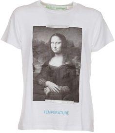 15561ecc7b0c Off-White Mona Lisa Print T-shirt Arrow T Shirt