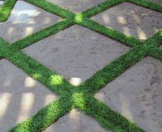 Artificial turf by Conservation Grass ; Gardenista