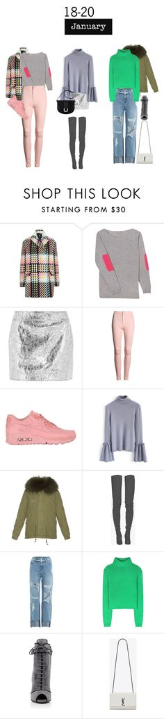 """""""Support"""" by lseed87 ❤ liked on Polyvore featuring Marni, Orwell + Austen, McQ by Alexander McQueen, NIKE, Chicwish, Mr & Mrs Italy, Balmain, SJYP, Acne Studios and Prada"""