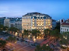 Located at Passeig de Gràcia in the heart of Barcelona, the neo-classical hotel is close to top attractions including Las Ramblas, the Gaudi-designed church of Sagrada Familia, and Plaza de Cataluña. At over 5,000-square-feet, the Majestic Royal Penthouse is the largest suite in town, with multiple terraces.