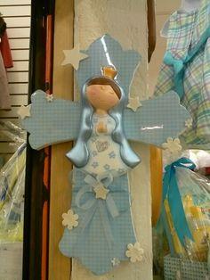 Cruz de madera con virgen de guadalupe Visite craftystore dallas en facebook!!!