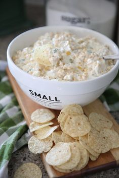 This Corn Dip Recipe is one of our favorite appetizers! A crowd pleaser with your favorite chips or veggies! This sweet corn dip is easy to make and can be altered to fit your personal preferences! Best Party Appetizers, Best Appetizer Recipes, Appetizer Dips, Yummy Appetizers, Snack Recipes, Party Recipes, Party Snacks, Yummy Recipes, Corn Dip Recipes